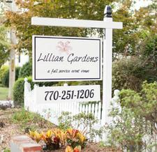 Lillian Gardens logo