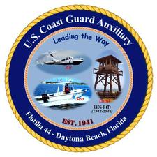 US Coast Guard Auxiliary Flotilla 44 - Daytona Beach, FL logo