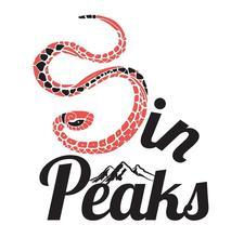 Sin Peaks logo