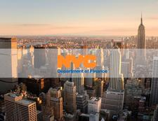 The NYC Department of Finance logo