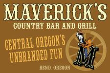 Maverick's Country Bar and Grill logo