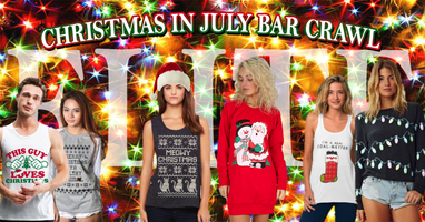 CLE Christmas in July Bar Crawl