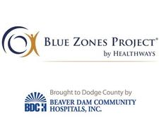 Blue Zones Project Dodge County logo