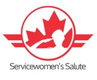 Canada 150 Servicewomen's Salute Organizing Committee logo