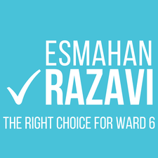 Esmahan Razavi for Ward 6 Campaign  logo
