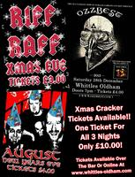 Xmas Cracker Ticket - Entry To All 3 Xmas Gigs For...