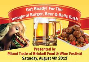 Inaugural Burger, Beer & Balls Bash in Brickell