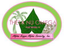 Theta Nu Omega Chapter of Alpha Kappa Alpha Sorority, Inc.  logo
