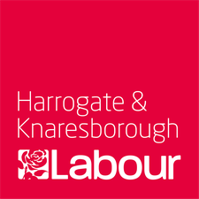 Harrogate & Knaresborough Labour Party logo