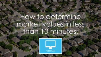 Webinar: How to determine market values in less than 10 minutes. **LIVE**