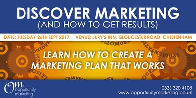 Discover Marketing (and how to get results) -...