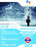 ABI.London Summer Codeathon using Google Assistant...