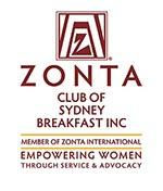 Zonta Club of Sydney Breakfast Inc logo