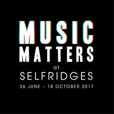 Music Matters at Selfridges logo