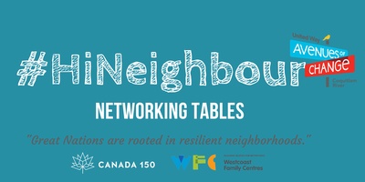#HiNeighbour Networking Table -  Aug 17