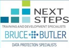 Next Steps in Partnership with Bruce & Butler logo