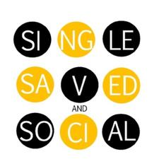 Single, Saved & Social  logo