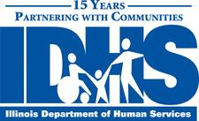 Illinois Department of Human Services/Division of Rehabilitation Services (DHS/DRS) logo