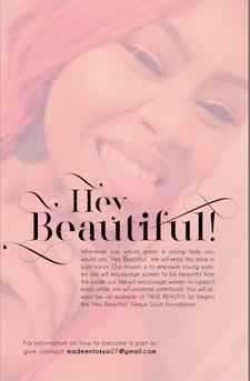 "Hey Beautiful ""Emauri Scott"" Foundation Inc. logo"