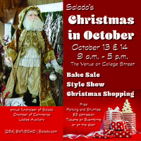 Salado's Christmas in October Tickets, Fri, Oct 13, 2017 at 9:00 ...