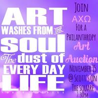 Alpha Chi Omega Art Auction