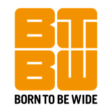 Born To Be Wide logo
