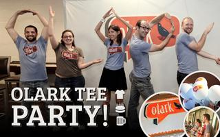 Olark Tee Party