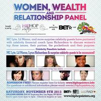 Women, Wealth & Relationships Panel