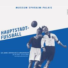 Hauptstadtfußball | Ausstellung logo