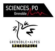 Science Po Grenoble en partenariat avec Grenoble-Alpes Métropole logo