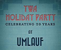 YWA Holiday Party Celebrating 20 Years