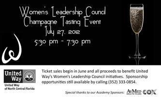 WLC Fundraiser & Champagne Tasting Event