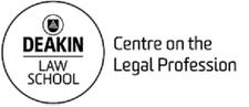 Centre on the Legal Profession, Deakin Law School logo