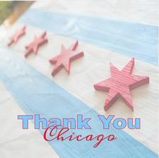 Thank You Chicago logo