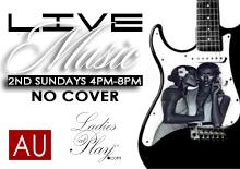 Ladies at Play presents LIVE MUSIC 2nd Sundays @Aurum...