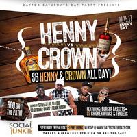 """7.15 """"DAYTOX SATURDAYS"""" Day Party Presents HENNY vs CROWN 