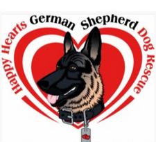 Happy Hearts German Shepherd Rescue  logo