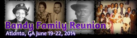 2014 Bandy Family Reunion