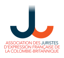 Association des juristes d'expression française de Colombie-Britannique (AJEFCB) logo