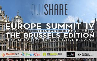 OuiShare Summit #4 Brussels