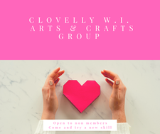 Clovelly Women's Institute Arts and Crafts Group logo