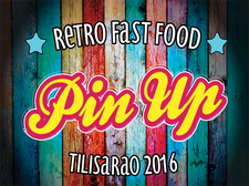 Pin Up - Retro Fast Food logo