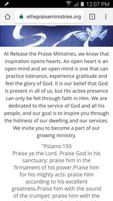 Release The Praise Ministries logo