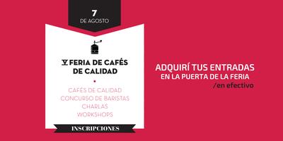 Feria Exigí Buen Café: 5ta edición / ENTRADA VIP (pago...