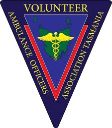 Volunteer Ambulance Officers Association of Tasmania logo