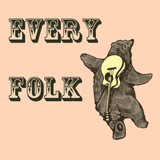 Every Folk, a camp for grown ups to explore traditional music and culture. logo