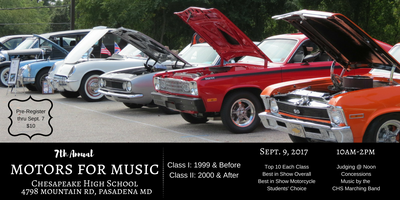 7th Annual Motors for Music