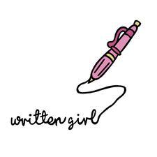 Written Girl logo