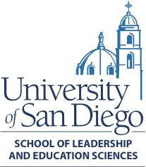 University of San Diego School of Leadership and Education Sciences logo
