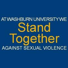 Washburn University Sexual Assault Education and Prevention logo